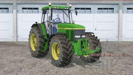 John Deere 7810〡opening mask flaps для Farming Simulator 2015