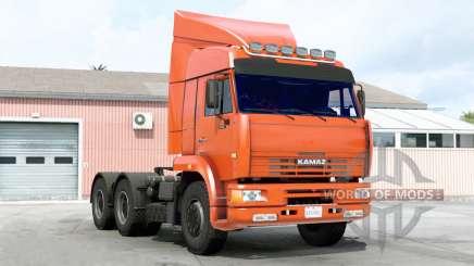 КамАЗ 6460 для American Truck Simulator