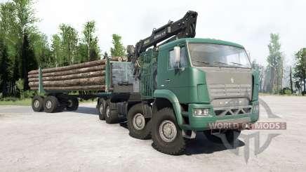 КамАЗ 6560 для MudRunner