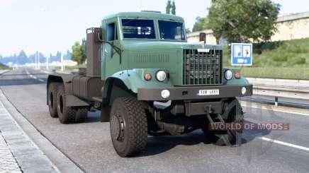 КрАЗ 258 и 260В для Euro Truck Simulator 2