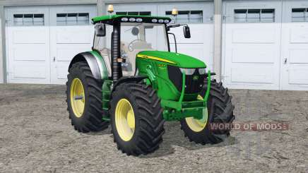 John Deere 6130R〡front loader для Farming Simulator 2015