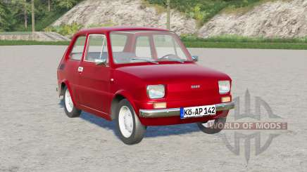 Fiat 126 1976 для Farming Simulator 2017