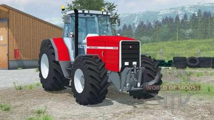 Massey Ferguson 8140〡animated dashboard для Farming Simulator 2013