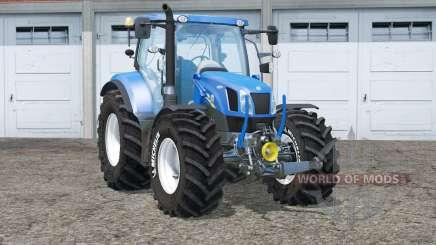 New Holland T6.175〡Michelin tires для Farming Simulator 2015
