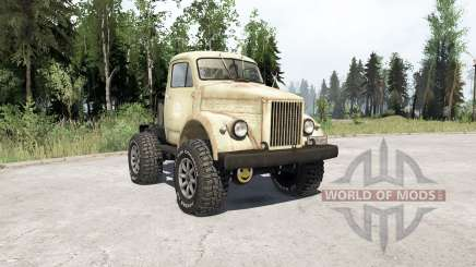ГАЗ 63 Газозавр для MudRunner