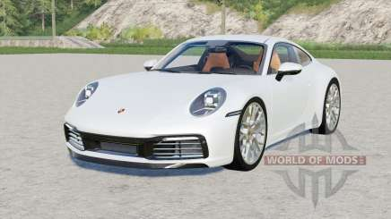 Porsche 911 Carrera 4S (992) 2019 для Farming Simulator 2017