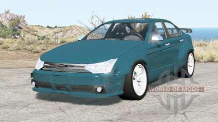 Ford Focus sedan (NA2) 2008 v2.01 для BeamNG Drive