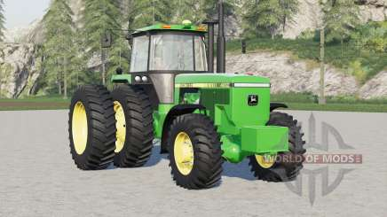 John Deere 4000 series〡wheels options для Farming Simulator 2017