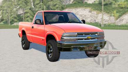 Chevrolet S-10 Regular Cab 1998 для Farming Simulator 2017