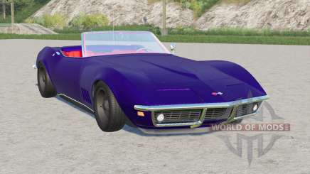 Chevrolet Corvette convertible (C3) 1968 для Farming Simulator 2017