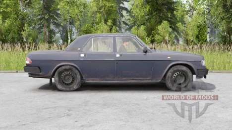 ГАЗ 3110 Волга 1997 для Spin Tires