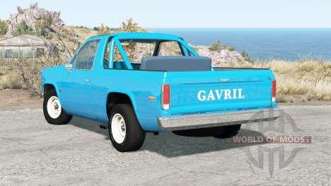 Gavril D-Series 70s v0.8.0b для BeamNG Drive