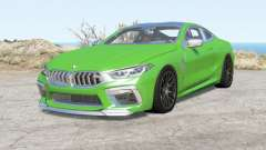 BMW M8 Competition coupe (F92) 2019 для BeamNG Drive