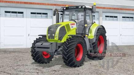 Claas Axioȵ 850 для Farming Simulator 2015