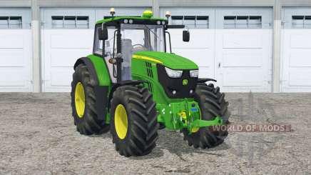 John Deere 6150M〡animated steering для Farming Simulator 2015