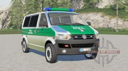 Volkswagen Transporter Kombi (T5) Zoll для Farming Simulator 2017
