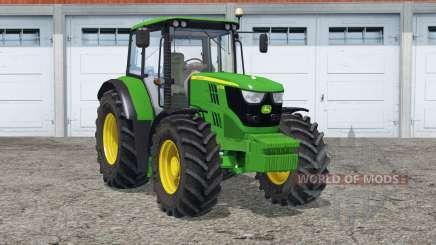 John Deere 6115M〡animated steering для Farming Simulator 2015