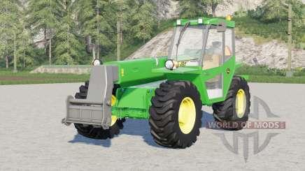 John Deere 4500〡4 tyre brand configurations для Farming Simulator 2017