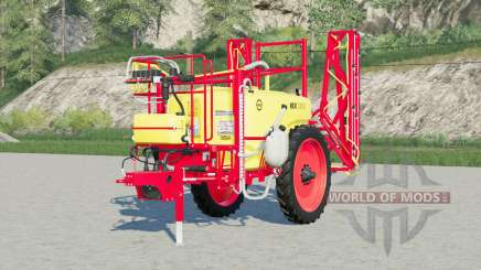 Unia Pilmet Rex 2518〡green & red для Farming Simulator 2017