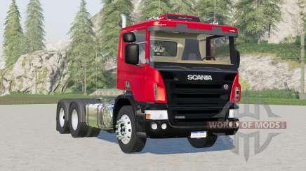 Scania P420 2-axis〡3-axis для Farming Simulator 2017