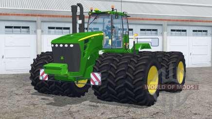 John Deere 9630〡with triples для Farming Simulator 2015