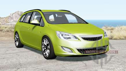 Opel Astra Sports Tourer (J) 2010 для BeamNG Drive