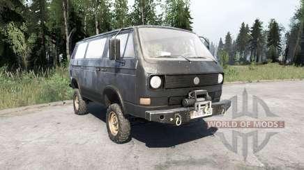 Volkswagen Transporter (T3) 1982 для MudRunner