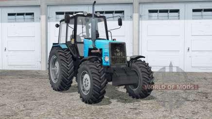 МТЗ 1221 Беларус〡пыль и следы от колёс для Farming Simulator 2015
