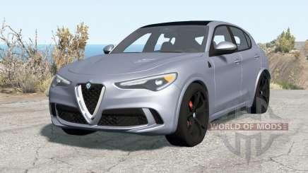 Alfa Romeo Stelvio Quadrifoglio (949) 2018 для BeamNG Drive