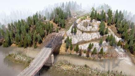Река и мост для MudRunner