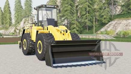 Caterpillar 990H для Farming Simulator 2017