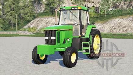 John Deere 7000 series〡narrow wheels для Farming Simulator 2017