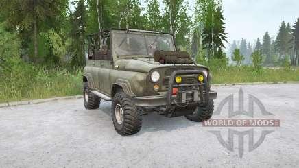 УАЗ 469 Меченый v1.1 для MudRunner