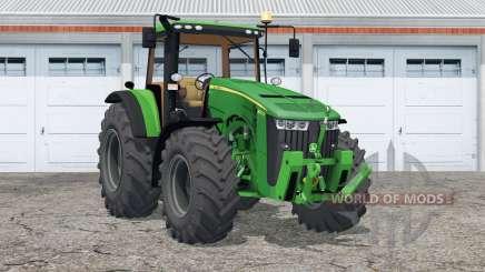 John Deere 8370R〡new wheels для Farming Simulator 2015
