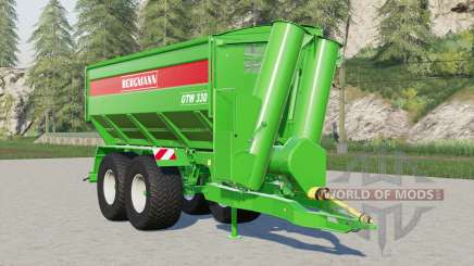 Bergmann GTW 330 для Farming Simulator 2017