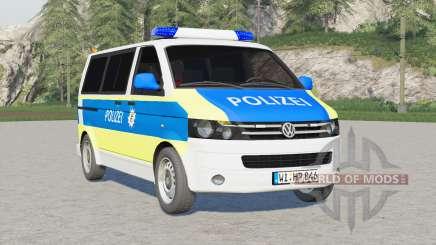 Volkswagen Transporter Kombi (T5) 2009〡Emergency v2.0 для Farming Simulator 2017