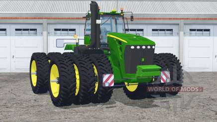 John Deere 9630〡with narrow triples для Farming Simulator 2015