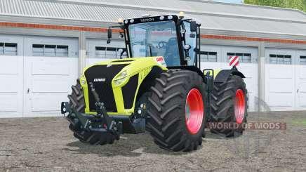Claas Xerion 4500 Trac VC〡steering wheel option для Farming Simulator 2015