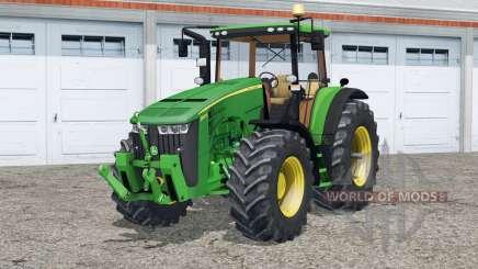 John Deere 8370R〡full lighting для Farming Simulator 2015