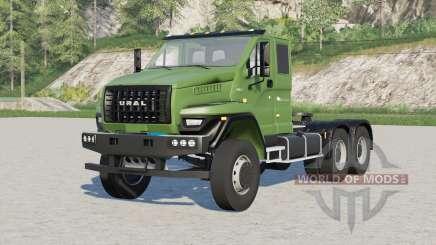 Урал Next 6x4 (7470-5511-01) 2018〡варианты колёс для Farming Simulator 2017