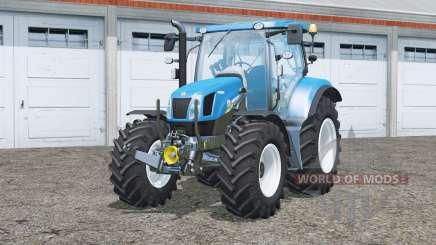 New Holland T6.160〡change wheels для Farming Simulator 2015
