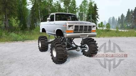 Ford Bronco Ranger XLT 1978〡lifted для MudRunner