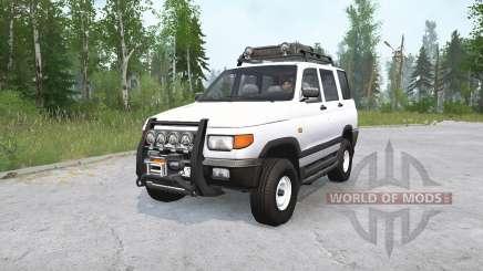 УАЗ 3160 v1.2 для MudRunner