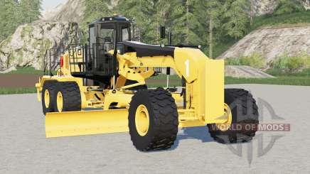 Caterpillar 18M3 для Farming Simulator 2017