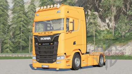 Scania S-series〡light fixed для Farming Simulator 2017