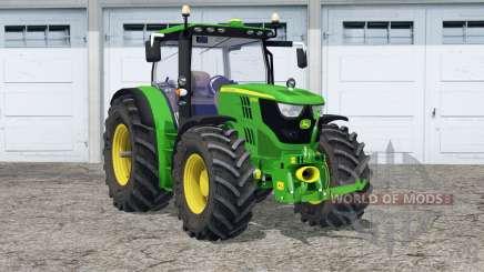 John Deere 6170R〡folding front arm для Farming Simulator 2015