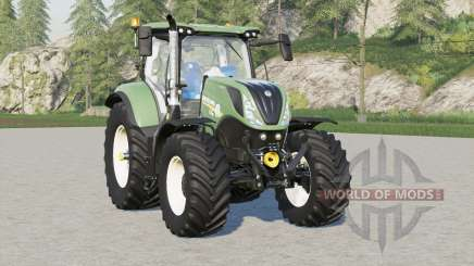 New Holland T7 series〡front weight option added для Farming Simulator 2017