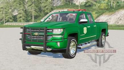 Chevrolet Silverado 1500 Double Cab (GMTK2) 2016〡Iowa DNR для Farming Simulator 2017