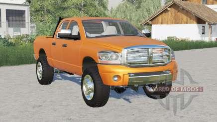 Dodge Ram 2500 Quad Cab 2006 для Farming Simulator 2017