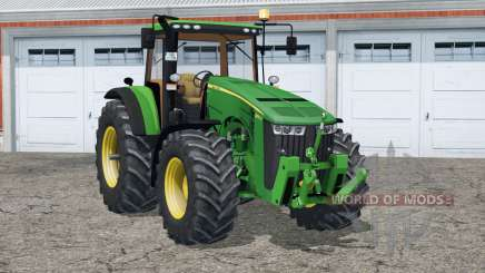 John Deere 8370R〡digital speedometer для Farming Simulator 2015